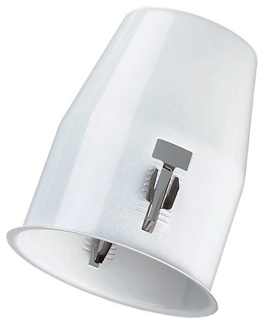 Ceiling Lights White Metal Flush Cannister for Spot Ceiling Light transitional-track-lighting