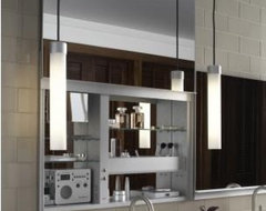 Robern Uplift Mirrored Medicine Cabinet modern bathroom mirrors