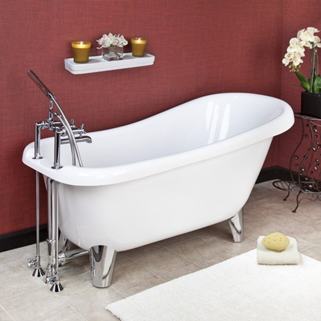 Modern Clawfoot Tub Remodel Bathtubs Other Metro By New Style Kitchen B