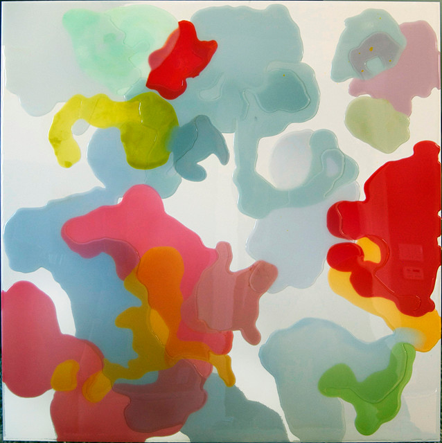 epoxy resin art eclectic-artwork