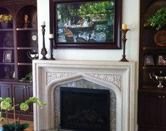 Goodbye, TV — Hello, Fireplace