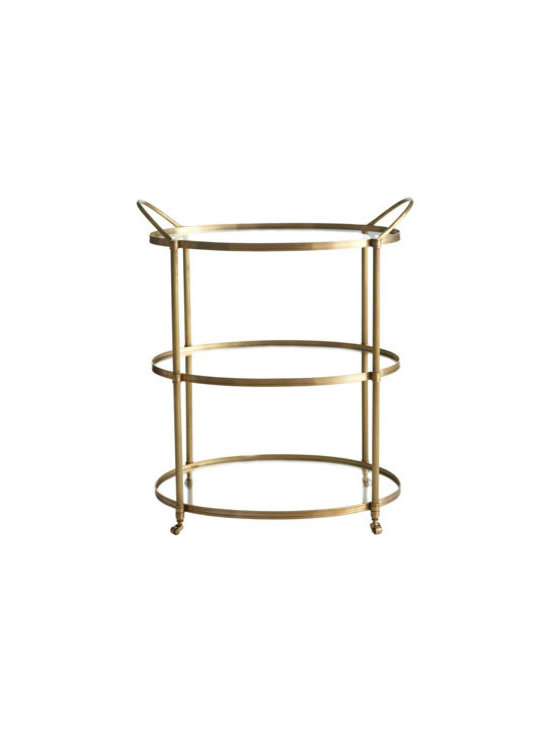 Arteriors Emory Bar Cart
