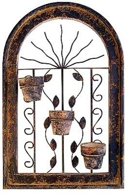 Mexican Home Accents mediterranean-outdoor-pots-and-planters