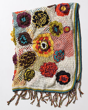 Quirky Heirloom Throw eclectic