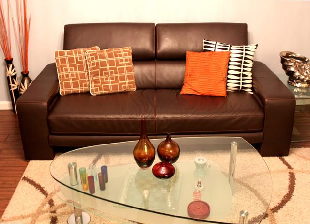 Knolls Home contemporary-living-room
