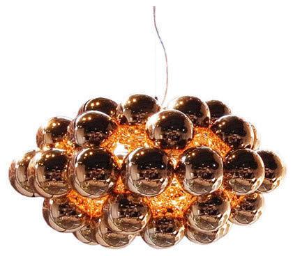 Beads Octo Chandelier modern-chandeliers