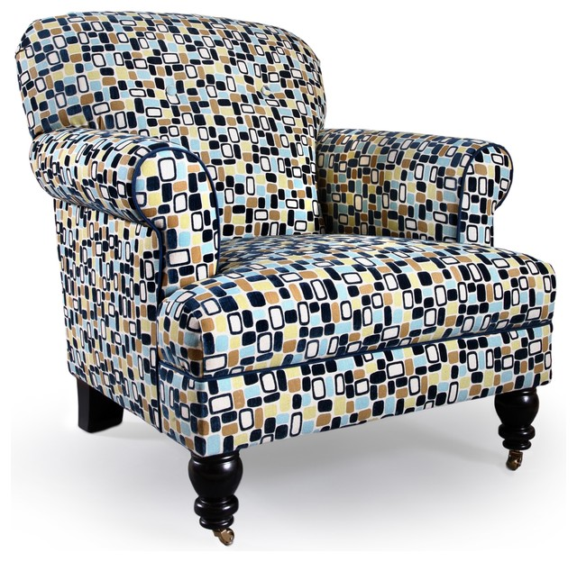 James Chair eclectic armchairs