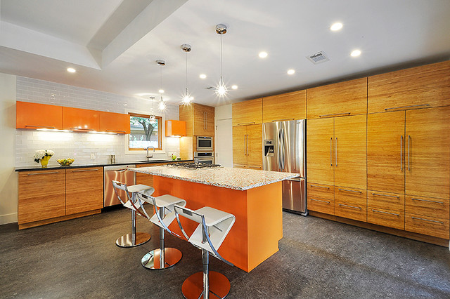 Recycled Glass contemporary-kitchen-countertops