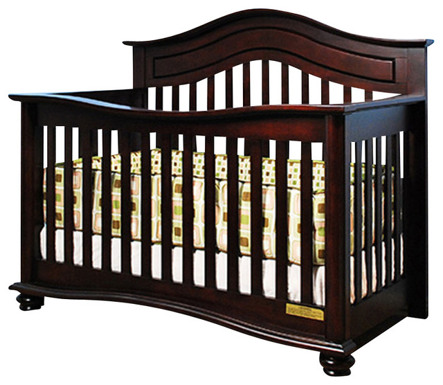 afg baby jordana convertible crib in cherry traditional cribs by beyond stores. Black Bedroom Furniture Sets. Home Design Ideas