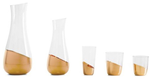Midas Collection Glasses contemporary glassware