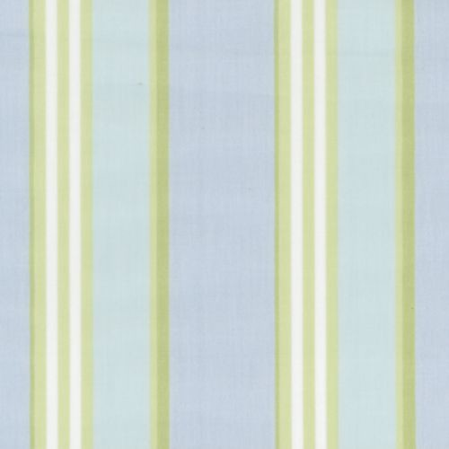 Blue/Green Club Stripe Designer Fabric Collection traditional-upholstery-fabric