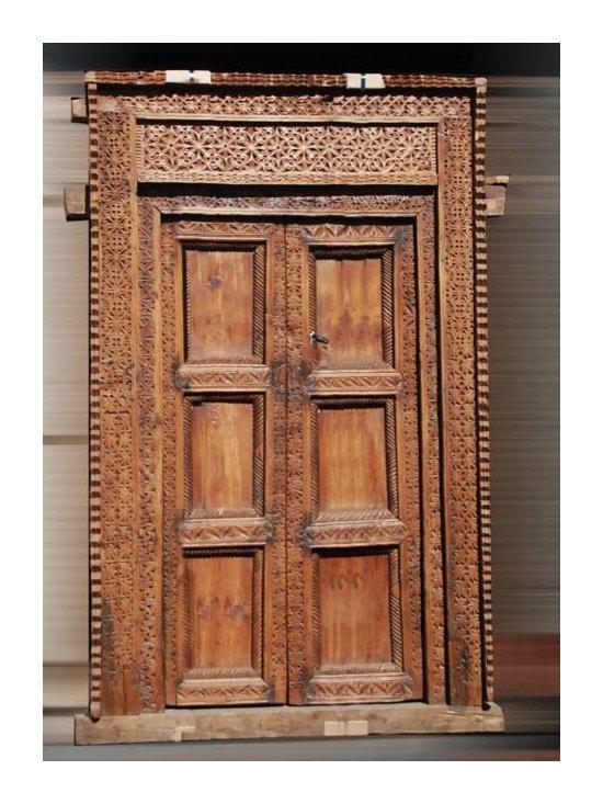 SilkRoute - Bhutan Old Door -