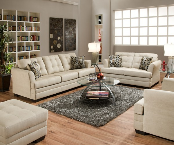 simmons upholstery velocity 3 piece living room set 2057 qslc