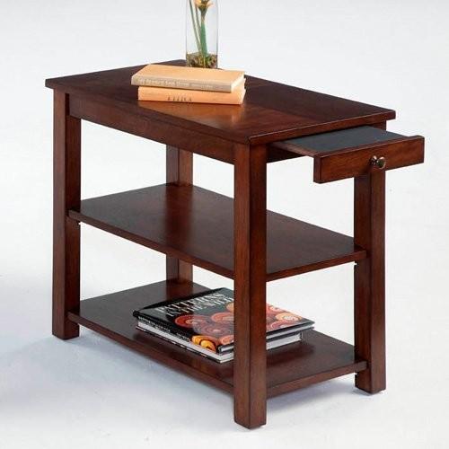 Progressive Furniture P300-63 Rectangular Poplar Wood Chairside End Table modern-indoor-pub-and-bistro-tables