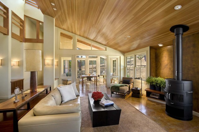 House in Santa Lucia Preserve, Carmel Valley contemporary living room