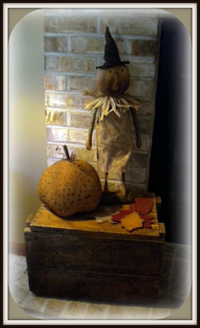 fall time displays traditional living room