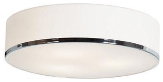 Access Lighting 20673LEDD-CH/OPL Dimmable Led Flush-Mount transitional-ceiling-lighting