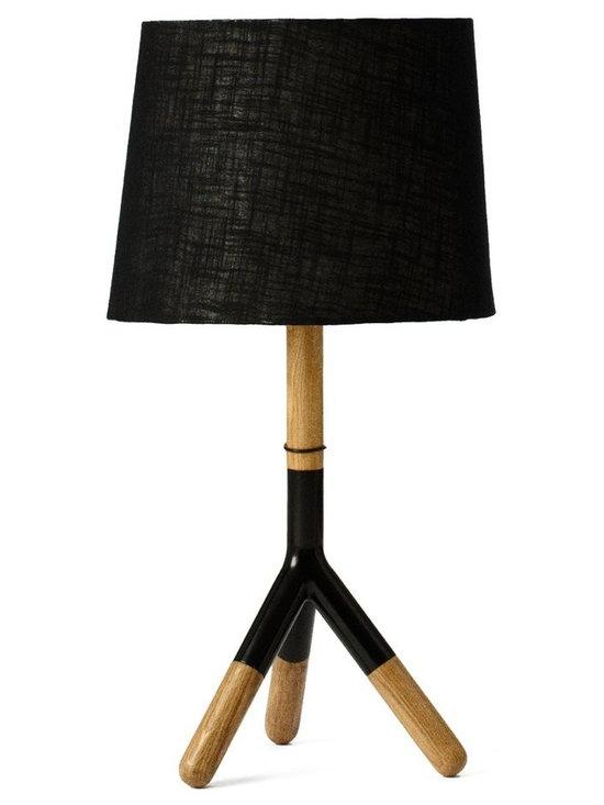 Mater - Mater Lathe Lamp Table -