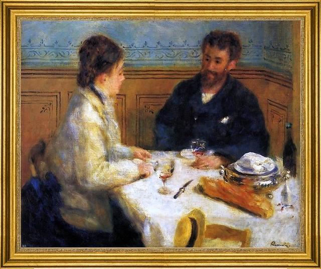"Pierre Auguste Renoir-16""x20"" Framed Canvas traditional-artwork"