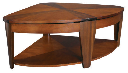 Hammary Oasis Wedge Lift Top Coffee Table Contemporary Coffee Tables By Hayneedle