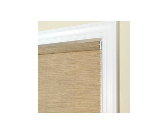 Comfortex - Comfortex Envision Roller Shades: Aspen - If you're looking for streamlined modern look at an affordable price point Envision Roller shades are for you.  Envision rollers are perfect to compliment your curtains or draperies.  Aspen fabric is tightly weaved weathered look fabric.