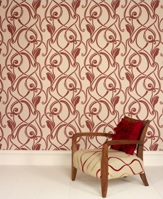 Graham & Brown - Muse Wallpaper modern wallpaper