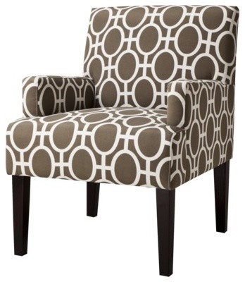 Dolce Upholstered Accent Arm Chair, Trellis contemporary-armchairs-and-accent-chairs