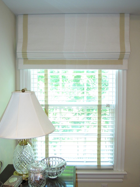 Roman Shades Eclectic Blinds New York By R