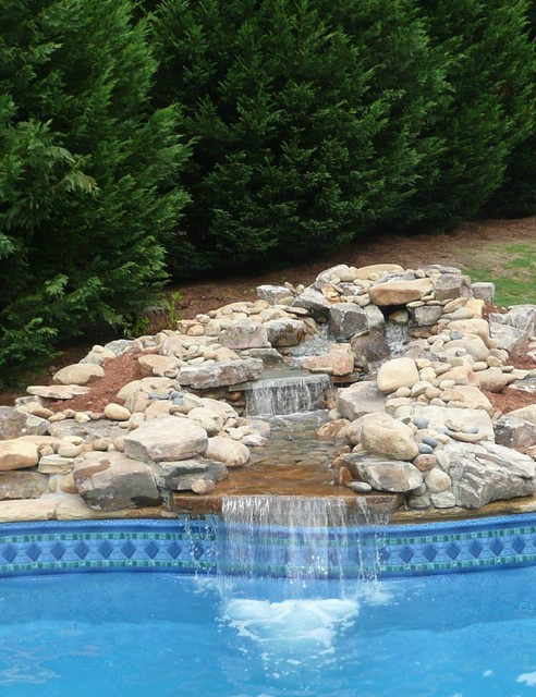 Natural Water Feature traditional-pool