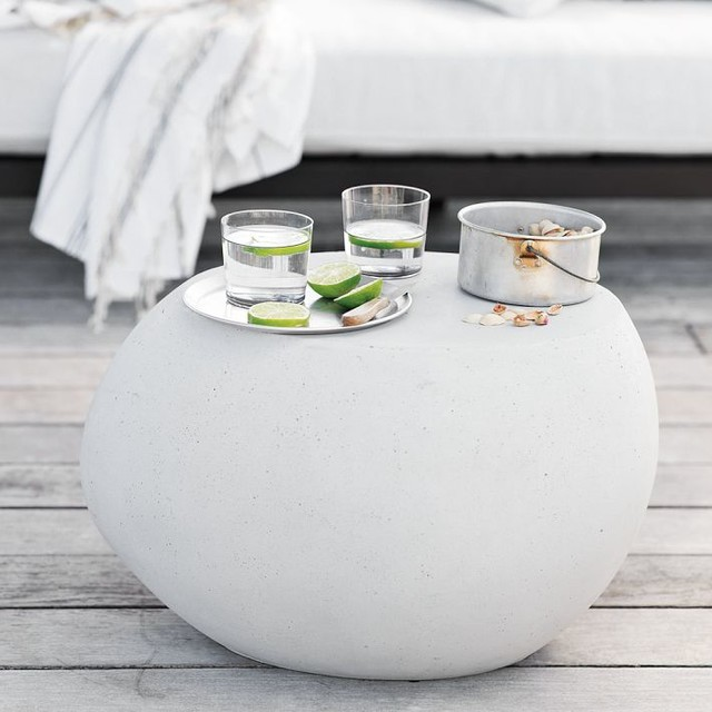 Pebble Side Table contemporary side tables and accent tables