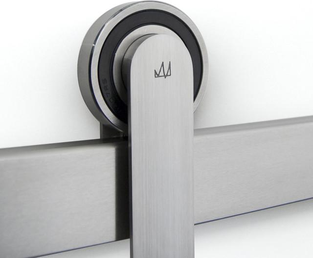 ODEN Sliding Door Hardware - Modern - Barn Door Hardware - other metro - by Krownlab