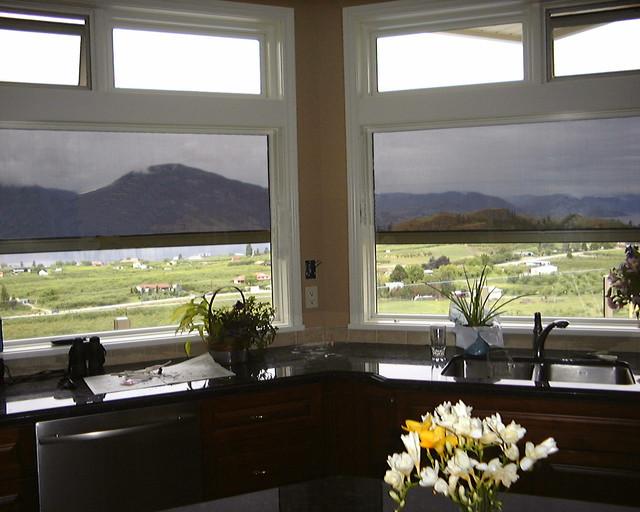 Habitat Screens On Kitchen Windows Contemporary Window