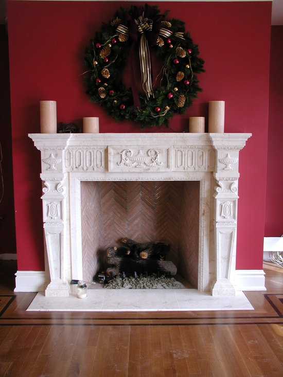 Federal Style - Federal Style Fireplace