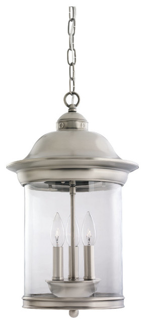 Sea Gull Three Light Outdoor Pendant modern-outdoor-hanging-lights
