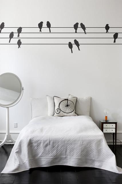 Ferm Living - Powerbirds Wall Sticker modern-wall-decals