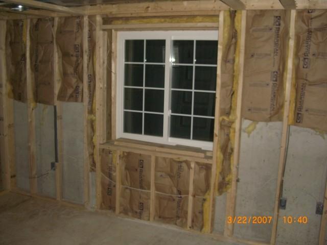 Finished Basements windows