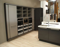 Complete Kitchen Integrated Into the Wall Option 1 modern-kitchen