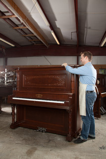 Restoring a 1901 Victorian Upright Piano as a Donation for Dollywood Chapel