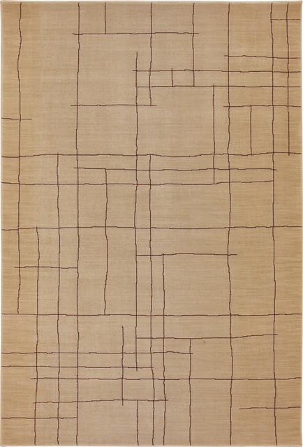 "Karastan Carmel 74700-13100 2'11"" x 4'8"" Ambler Ivory Rug contemporary-rugs"