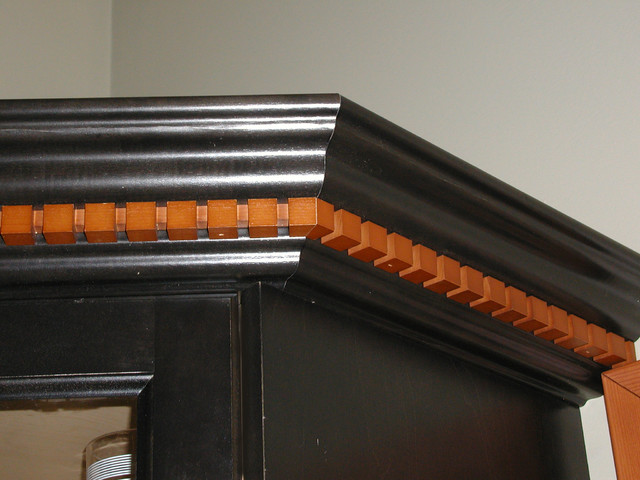 Crown and Dental Molding traditional