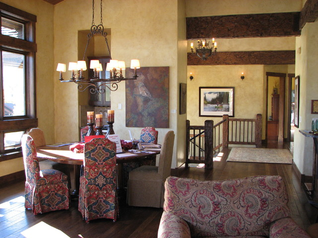 Summit County Parade of Homes 2009 - D&M Designs - Interiors & Blinds eclectic-dining-room