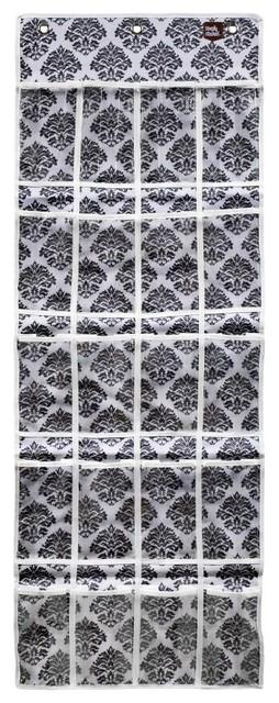The Original Stash-Black Fleur traditional-closet-storage