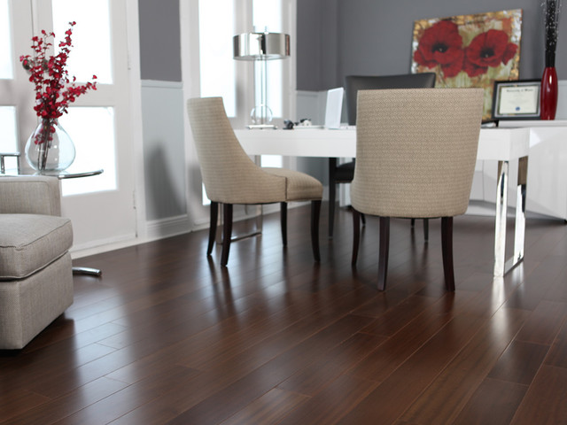 Tarakan Teak contemporary wood flooring