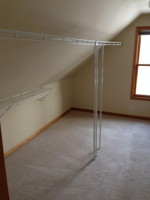 Help With An Odd Shaped Walk in Closet