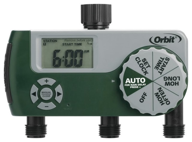orbit 56233d 3 outlet digital watering timer instructions