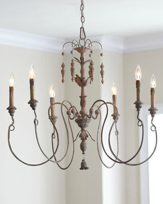 Salento 6-Light Chandelier contemporary-chandeliers
