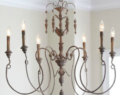Salento Six-Light Chandelier contemporary chandeliers
