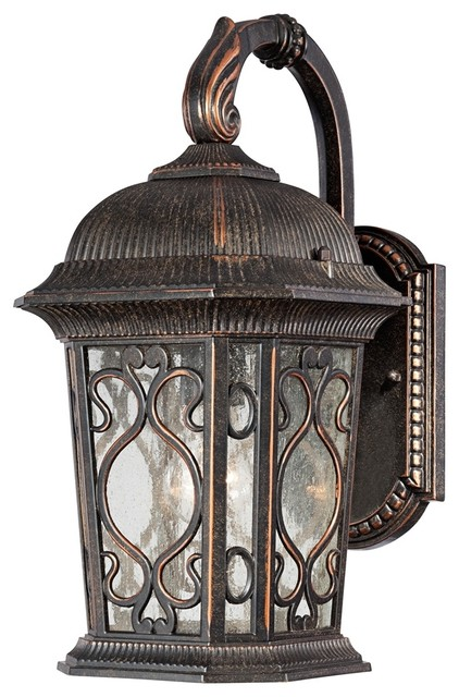 "Veranda Collection 17"" High Outdoor Wall Downlight Farmhouse Outdoor"