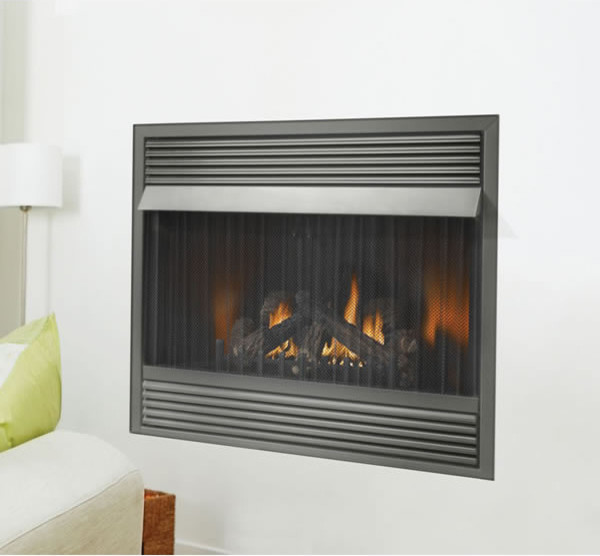 Gvf42p Napoleon Vent Free Gas Fireplace Zero Clearance Lp Modern Fireplace Accessories