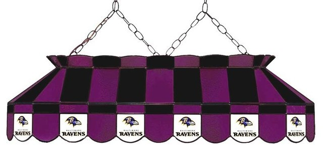 Baltimore ravens nfl 40 glass lamp modern game room and bar decor by man cave kingdom for Baltimore glassware decorators